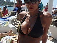 Sexy Luder privat im Urlaub