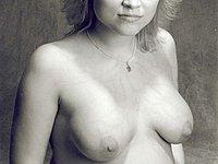 Schwangere privat nackt fotografiert
