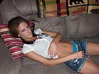 Freundin privat intim fotografiert