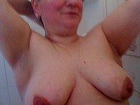 Reife Frau privat nackt fotografiert