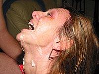 Sperma Abspritzen Orgien geiler Swinger