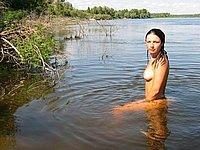 Nacktbaden und nackt im Freien