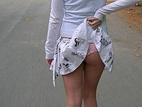 Blondes Luder privat nackt - Heisse intime Fotos
