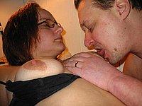 Paar Sex Bilder von Privat - Ficken mit Titten besamen