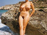 junge maedchen nackt strand intime urlaubsbilder