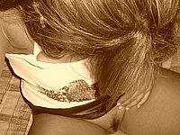 Blondine Privat - Intime Erotik Fotos von der Freundin