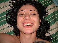 Geile Nackt Fotos und sch�n ins Gesicht gewichst
