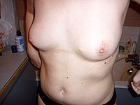 Intime Nacktaufnahmen der Exfreundin
