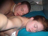 M�dchen beim Sex mit ihrem Freund