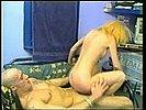 Blonde Fickschlampe durchgerammelt und geil besamt
