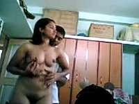 Paar privat bei intimen Spielen